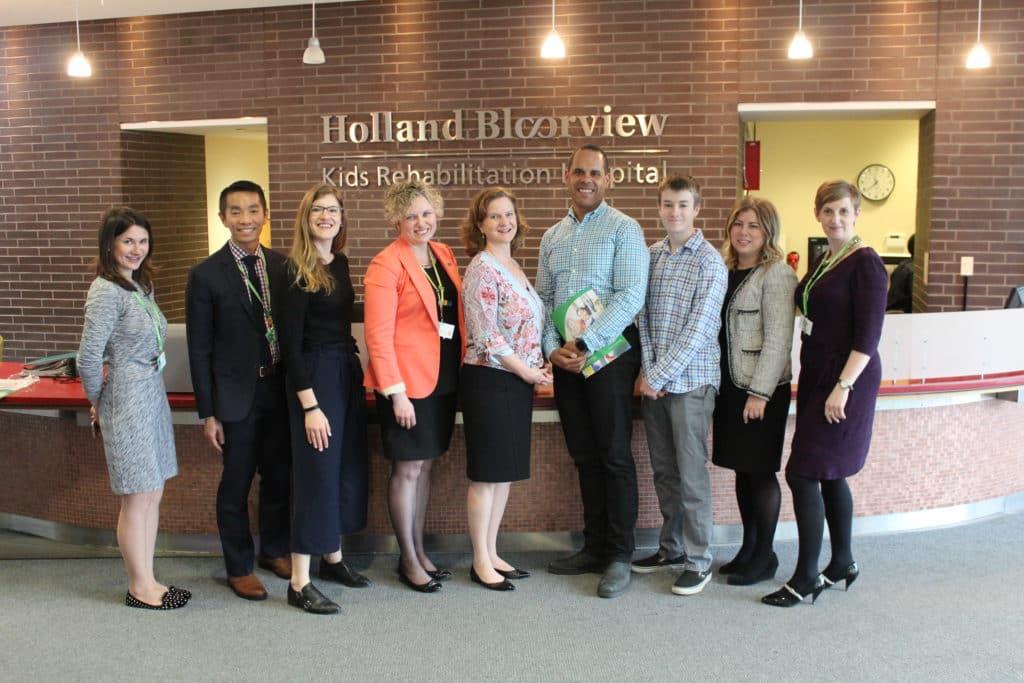 Researchers in the Holland Bloorview Kids Rehabilitation Hospital