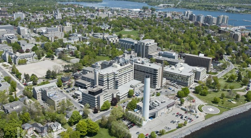 View of Kingston General Hospital