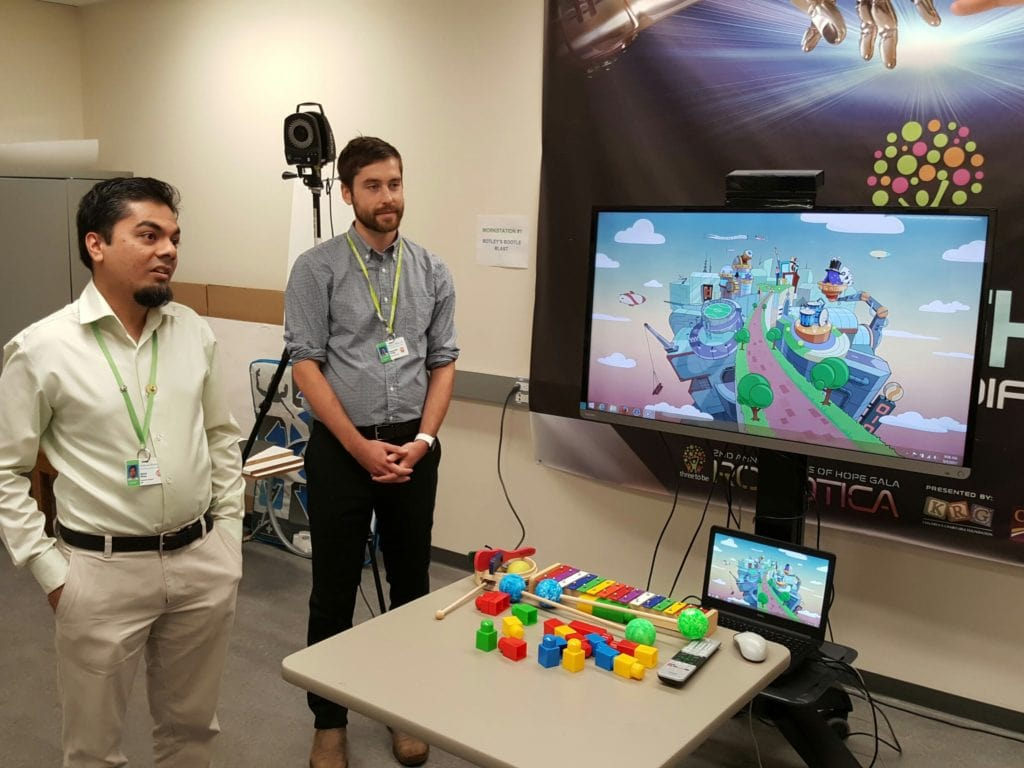 Game developers tell about therapy game
